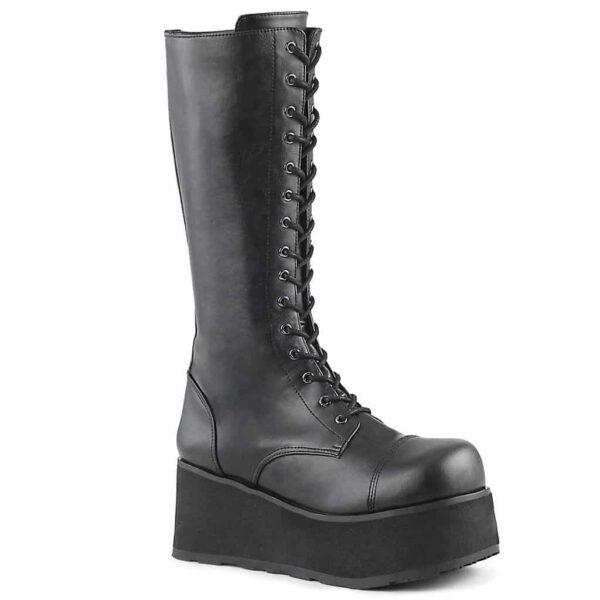 Knee High Leather Boot Trashville-502